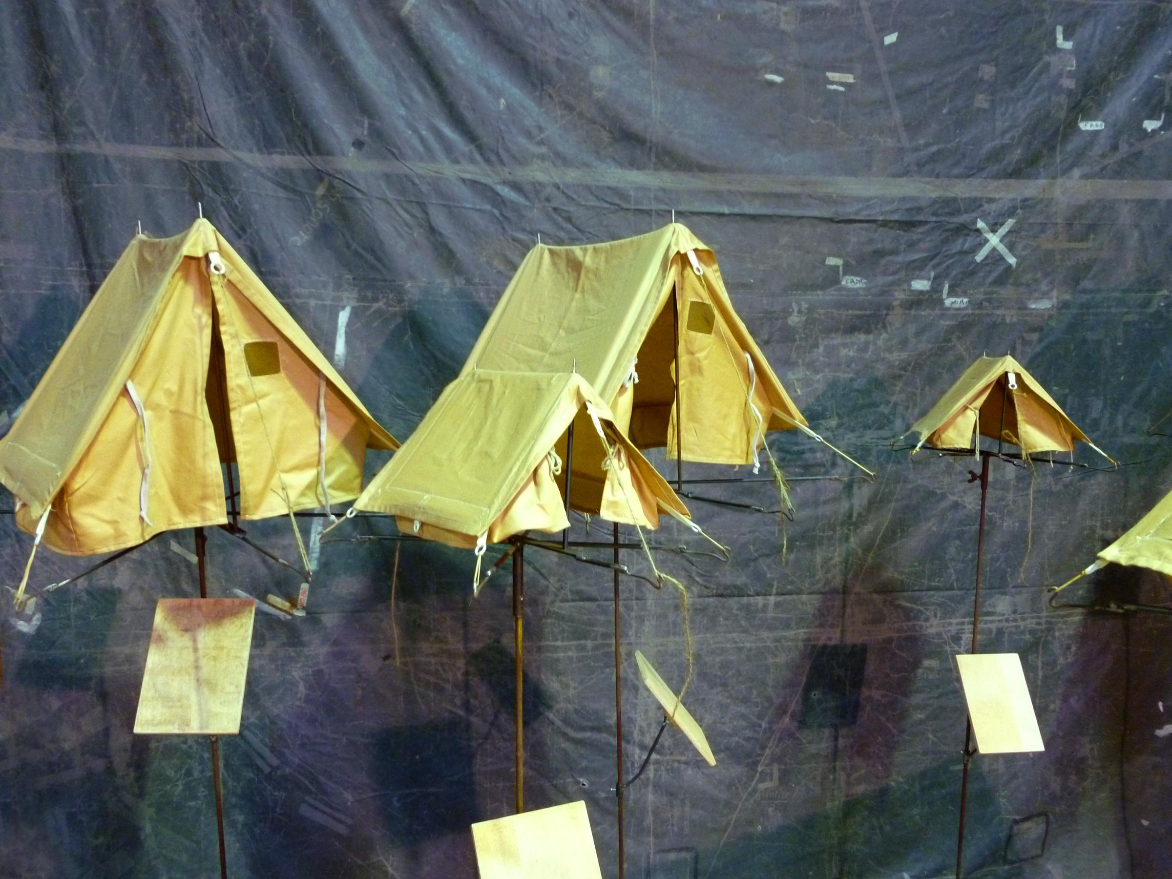 petites tentes